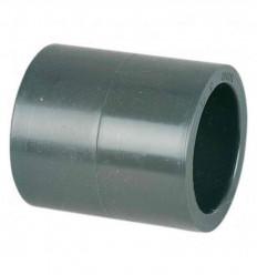 Manchon à coller PN16 diamètre 32,50, 63 mm PVC piscine