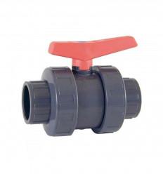 Vanne à boisseau à coller PN16 diamètre 25,50,63,75 mm PVC Piscine
