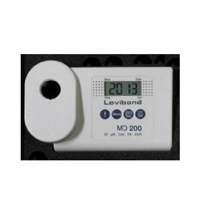 MD200-5 Photomètre Lovibond chlore-ph-stabilisant-TAC-TH EAU2
