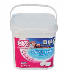 Chlore lent galet 250g CTX373