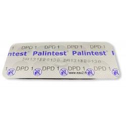 Plaquette Pastilles DPD1 Palintest détermination du chlore libre pour photomètre