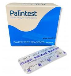Palintest DPD3 AP031/1 boite 250 pastilles photomètre détermination du chlore total