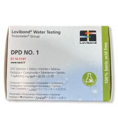 Lovibond DPD1 boite 250 pastilles photomètre détermination Chlore Libre