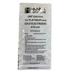 Solution tampon REDOX 470mV Hanna HI70022