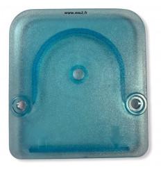 Couvercle transparent bleu pour pompe MP1 nouvelle génération 00.010.312