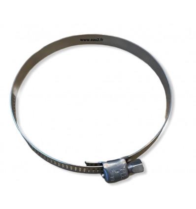 Collier de serrage Inox pour toile de bougie filtre de diatomée EAU2