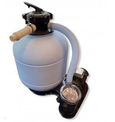 Filtre avec pompe en monobloc 4m3/h pour piscine hors sol de 18m3