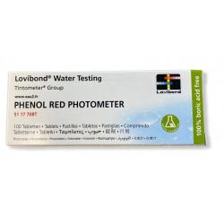 Pastilles pH Lovibond détermination pH pour photomètre EAU2