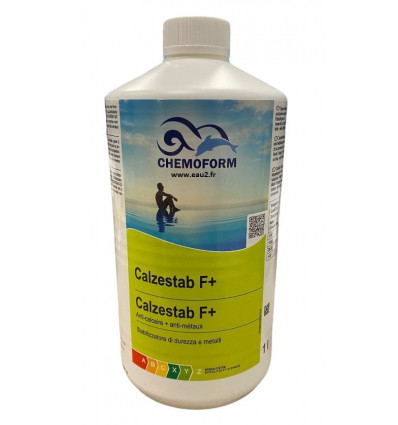 Calzestab F+ Anti-calcaire + Anti-métaux Chemoform bidon 1L