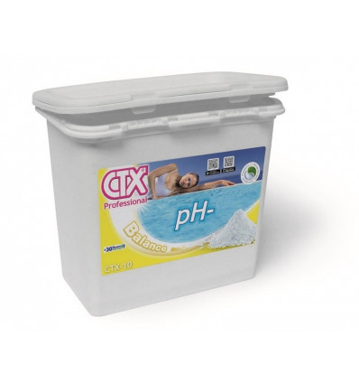 pH moins CTX10 granulés pour baisser le pH de votre piscine 1,5 kg