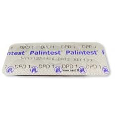 Palintest DPD1 Rapid AK011 à partir de 10 pastilles comparateur détermination du chlore libre