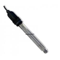 Sonde pH 100 mm avec câble de 0,85m BNC