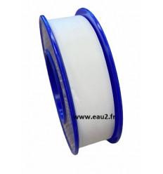 Téflon pour étanchéité du PVC différent largeur 12, 25mm longueur 12m