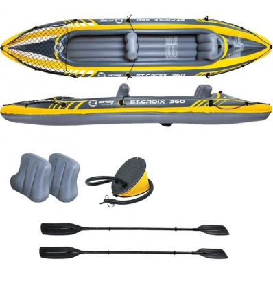 Kayak gonflable ZraySt Croix pour 2 personnes