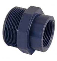 Réduction Mâle x Femelle à visser PVC piscine différents diamètres
