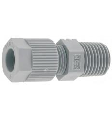 "Raccord Union mâle tube 6x8mm x visser 1/2"" Serto"