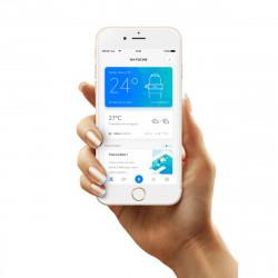 Avec boite Blue connect mesure connecté du pH, Orp, température et conductivité