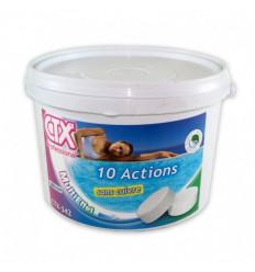 Galet Chlore 250g 10 Actions CTX342 sans sulfate de cuivre