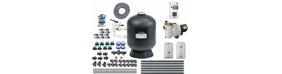 Kit filtration piscine complet