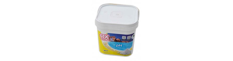 pH plus, pH moins